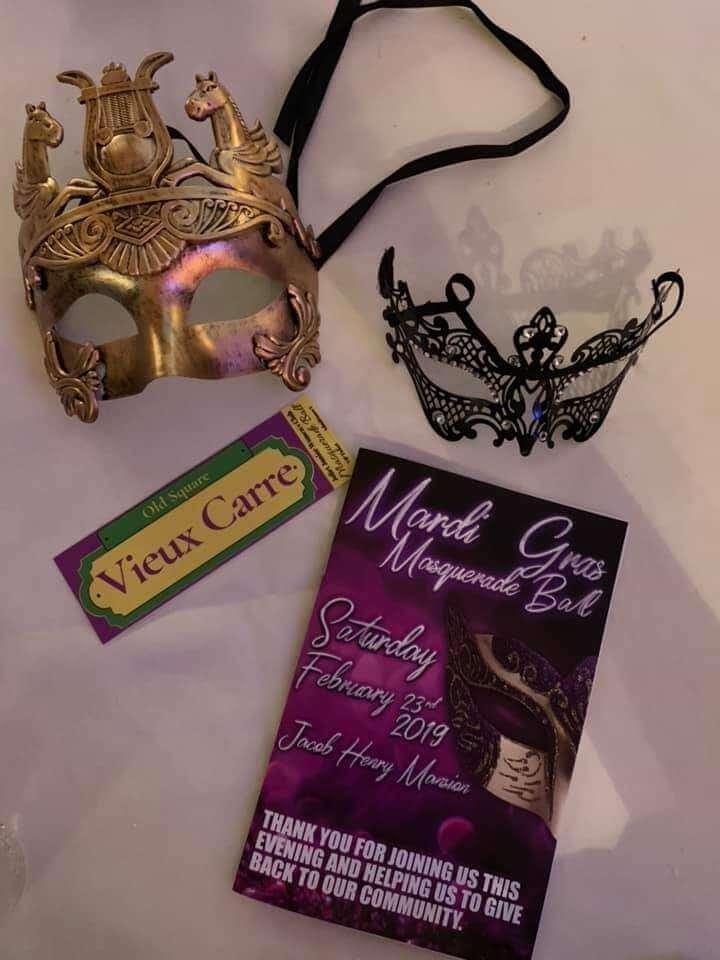 mardi gras masquerade ball