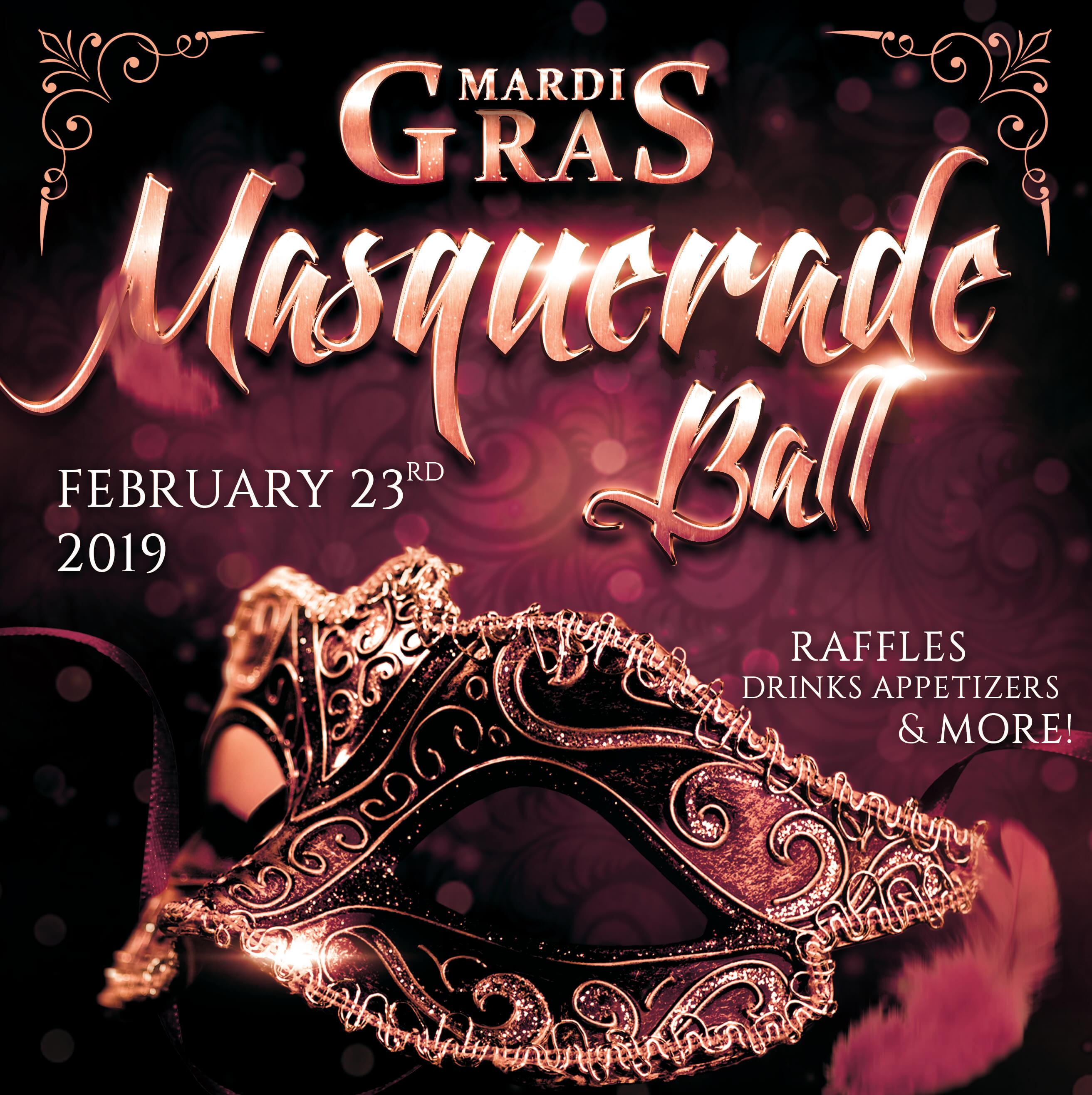 Mardi Gras Masquerade Ball   Joliet Junior Woman's Club