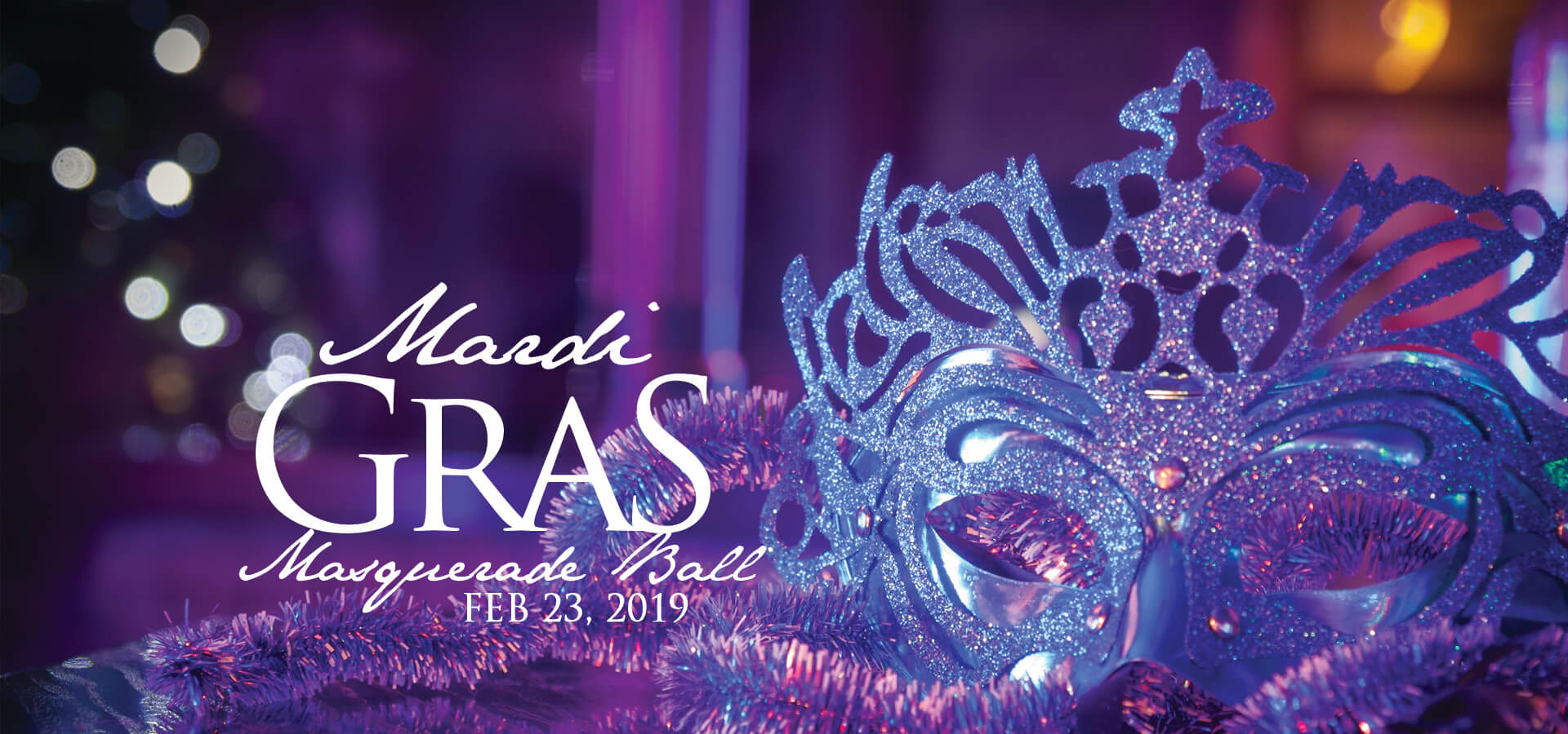 Mardi Gras Masquerade Ball 2019 with Joliet Junior Woman's Club