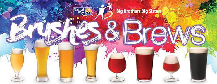 Brushes and Brews for Big Brothers & Big Sisters